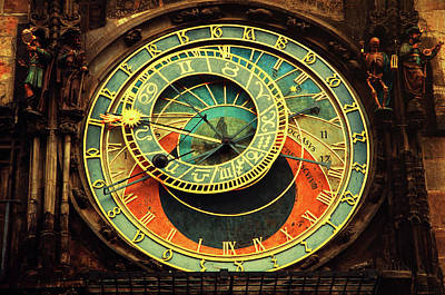Photograph - Astronomical Clock. Prague by Jenny Rainbow