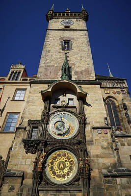 Photograph - Astronomical Clock. Prague Spring 2017 by Jouko Lehto
