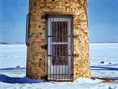 Lighthouse Photograph - Asylum Lighthouse Door by Joan Carroll