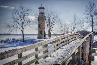 Rose - Asylum Point Lighthouse by Joan Carroll