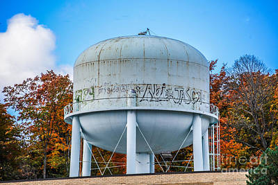 Photograph - Asylum Water Tower by Grace Grogan