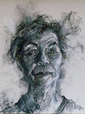 Drawing - At 70 by Ellen Dreibelbis
