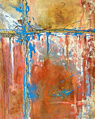 Painting - At A Crossroad No 2 by Mary Mirabal