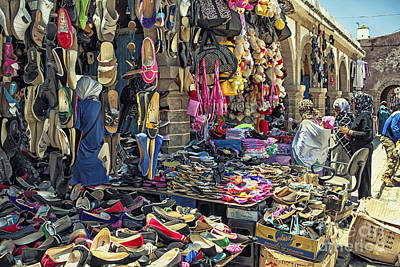 Photograph - At A Moroccan Market by Patricia Hofmeester