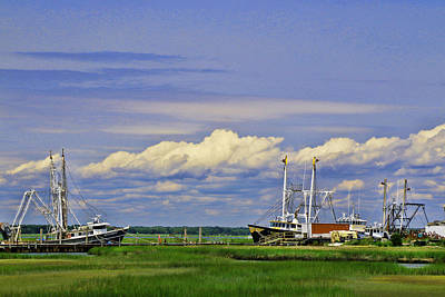 Photograph - At Anchor by Allen Beatty