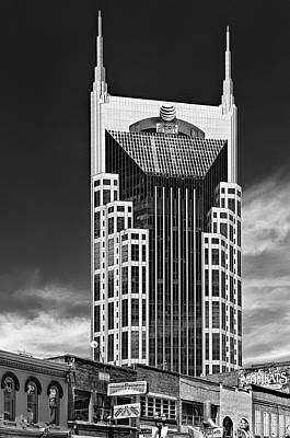 Batman Building Photograph - At And T Nashville by Ian Barber