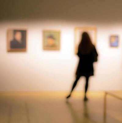 Photograph - At Art Exhibition by Jarmo Honkanen