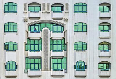 Photograph - At Balcony by Roberto Pagani