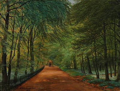 Painting - At Bernstorff by Niels Rademacher