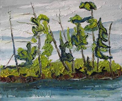 At Burbue Lake No 2 Art Print by Francois Fournier