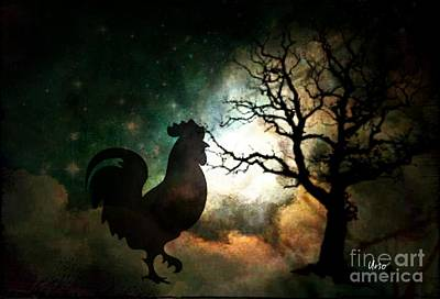 Digital Art - At Dawn He Calls by Maria Urso