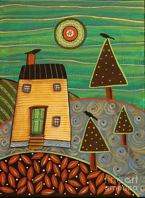 At Home 1 Original by Karla Gerard