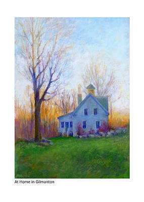 Painting - At Home In Gilmanton by Betsy Derrick