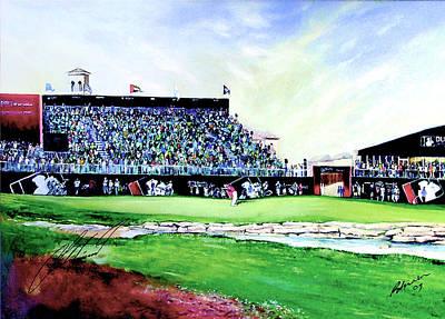 Painting - Dubai World Championship 2009 by Mark Robinson