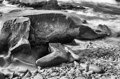 Photograph - At Low Tide by Joseph S Giacalone