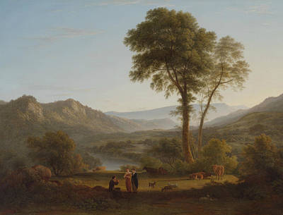 Painting - At Matlock - Mist Rising by John Glover