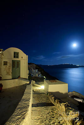 Photograph - At Midnight by Aiolos Greek Collections