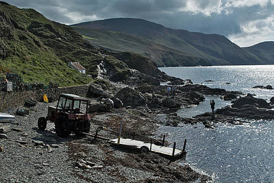 Photograph - At Niarbyl Point by Steve Watson