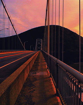 Photograph - At Ny Bear Mountain Bridge 1 by Raymond Salani III