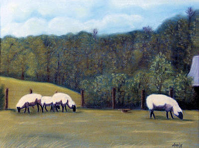 Pastel - At Pasture by Jan Amiss