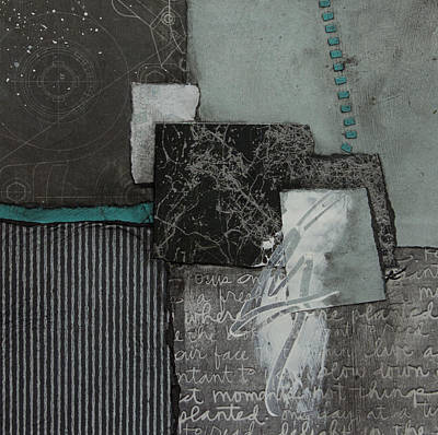 Squares Mixed Media - At Peace by Laura  Lein-Svencner