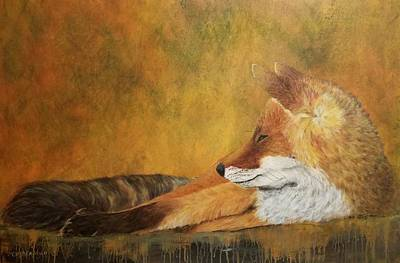 Painting - At Rest by Christie Minalga