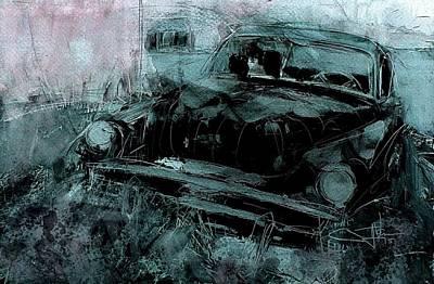 Digital Art - At Rest by Jim Vance