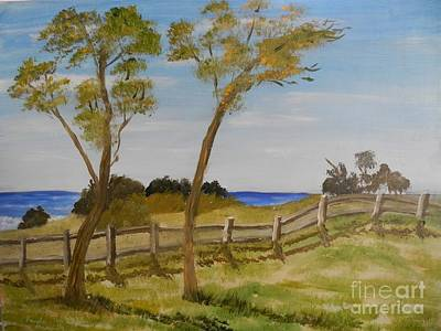 Painting - At Ruby's Bulli by Pamela  Meredith