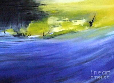 Painting - At Sea by Janet Visser