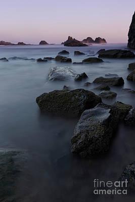 Beach Photograph - At Seal Rock State Park by Masako Metz