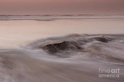 Power Trip Photograph - At Soft Orange Twilight  by Masako Metz
