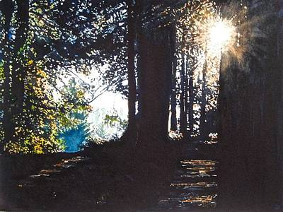 Painting - At Sunset by Barbara Pease
