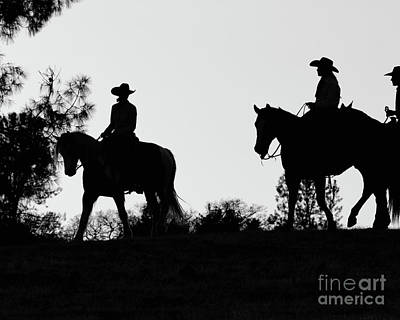 Photograph - At Sunset On The Ranch by Ana V Ramirez