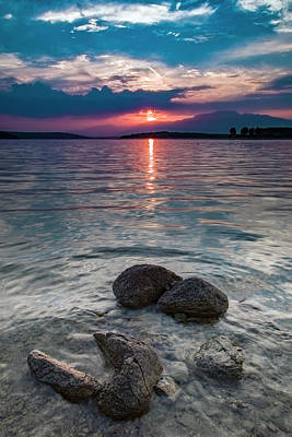 Photograph - At Sunset On The Shoreline by Plamen Petkov