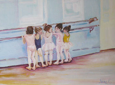 At The Barre Art Print