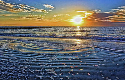 Photograph - At The Beach 1 by HH Photography of Florida