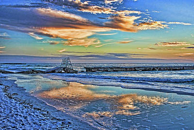 Photograph - At The Beach 3 by HH Photography of Florida