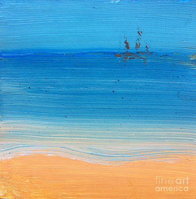 Painting - At The Beach Again... by Michelle Deyna-Hayward