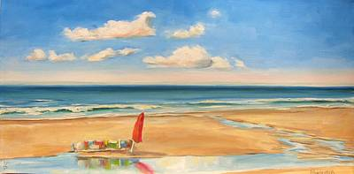 Painting - At The Beach by Dianna Poindexter