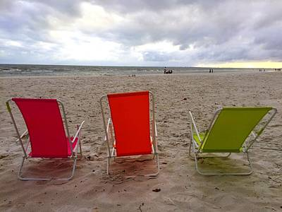 Photograph - At The Beach by Donna Spadola