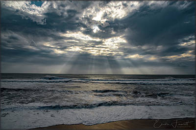 Photograph - At The Beach by Erika Fawcett