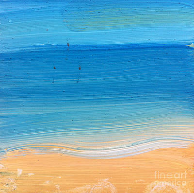 Painting - At The Beach by Michelle Deyna-Hayward