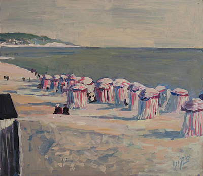 Painting - At The Beach by Nop Briex