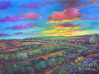 Painting - Chickasaw Bluff by Randy Burns