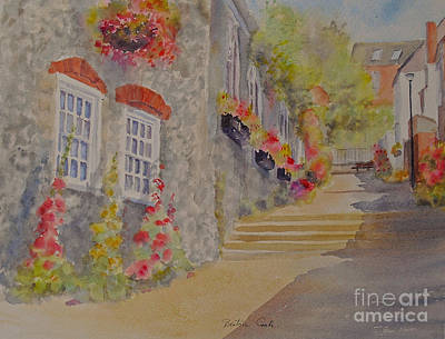 Painting - At The Bottom Of Church Hill Hythe Kent by Beatrice Cloake