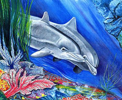 At The Bottom Of The Sea Art Print by John Keaton