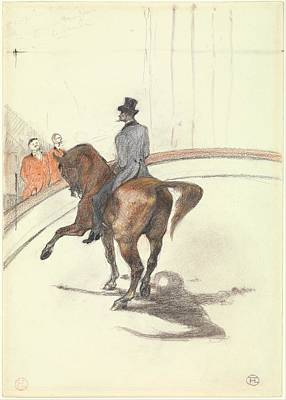 Spanish Horses Painting - At The Circus The Spanish Walk by Celestial Images