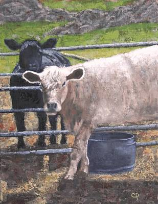 Painting - At The Corral by Candy Prather