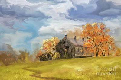 Digital Art - At The Edge Of Antietam by Lois Bryan