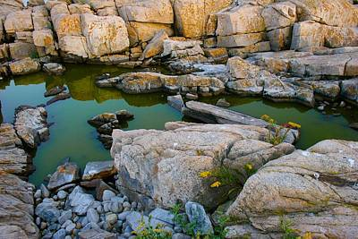 Photograph - At The End Of Schoodic Peninsula by Polly Castor